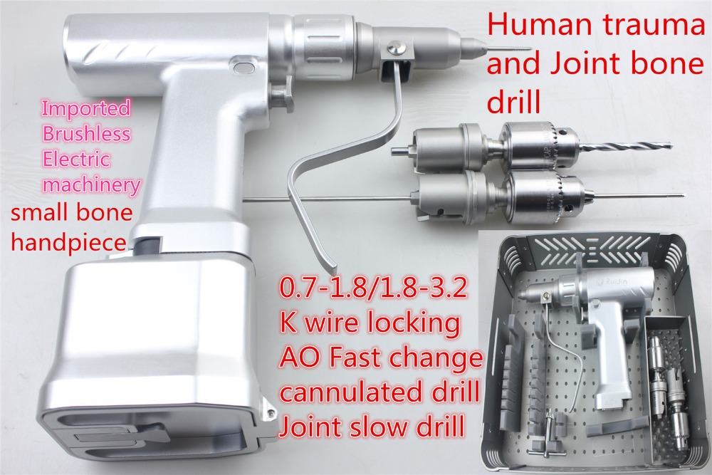 все цены на medical orthopedic instrument Electric hollow joint Slow bone drill cannulated fast drill Kirschner needle lock AO stryker john онлайн