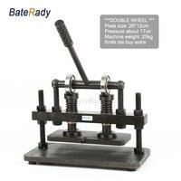 26x12 см двухколесный ручной станок для резки кожи, BateRady фотобумага, ПВХ/EVA лист форма для вырубки, машина для резки кожи
