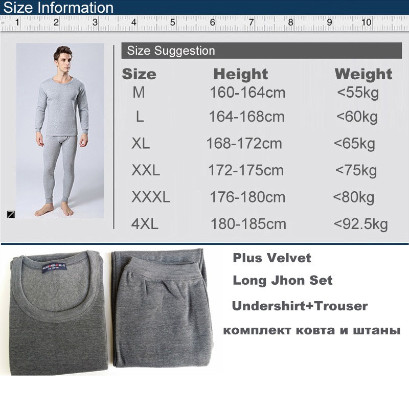 2014-Winter-Mens-Warm-Thermal-Underwear-Mens-Long-Johns-Sexy-Black-Thermal-Underwear-Sets-Thick-Plus