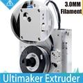 3D Принтер Части обновления Ultimaker 2 + Расширенный экструдер люкс подачи um2 экструзии набор, пригодный для 3 мм накаливания олссон блок комплект