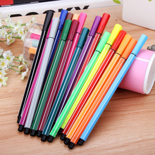 Children's gift 18 Colors Watercolor pen Professional Watercolor Art Markers Pen Painting drawing set - ZCX-00878N ITSYH