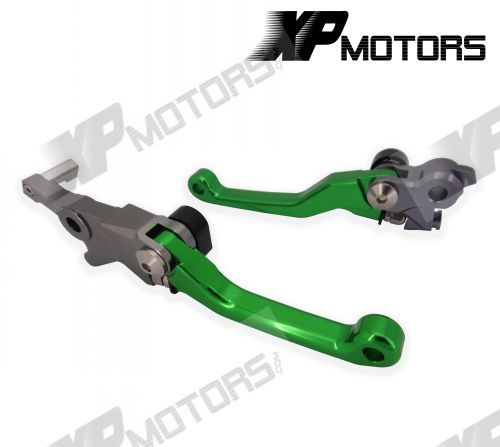 New Arrived CNC Pivot Lever Brake Clutch Levers For Kawasaki KX250F KX450F 2013 2014 cnc pivot brake clutch lever for kawasaki kx65 kx85 kx125 kx250 kx250f new