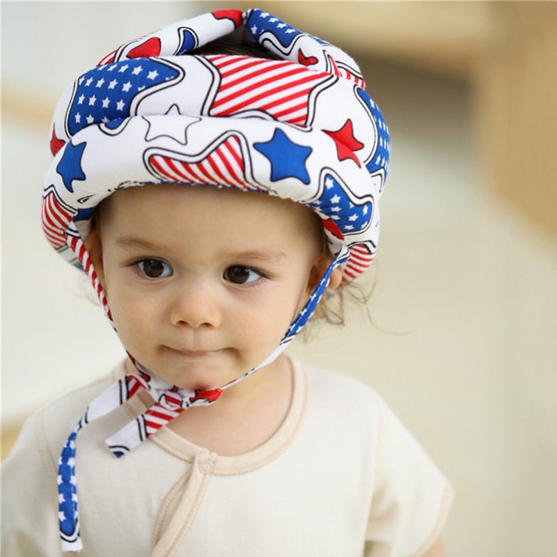 Anti-collision Cap Protective Hat for Infants Baby Toddler Kids Children Safety Helmet Soft Head Security baby shower cap  04 защитный детский шлем