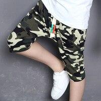 2017 lato modne ubrania dla dzieci kids boy camouflage army camo cargo krzyż spodnie szorty spodnie sport