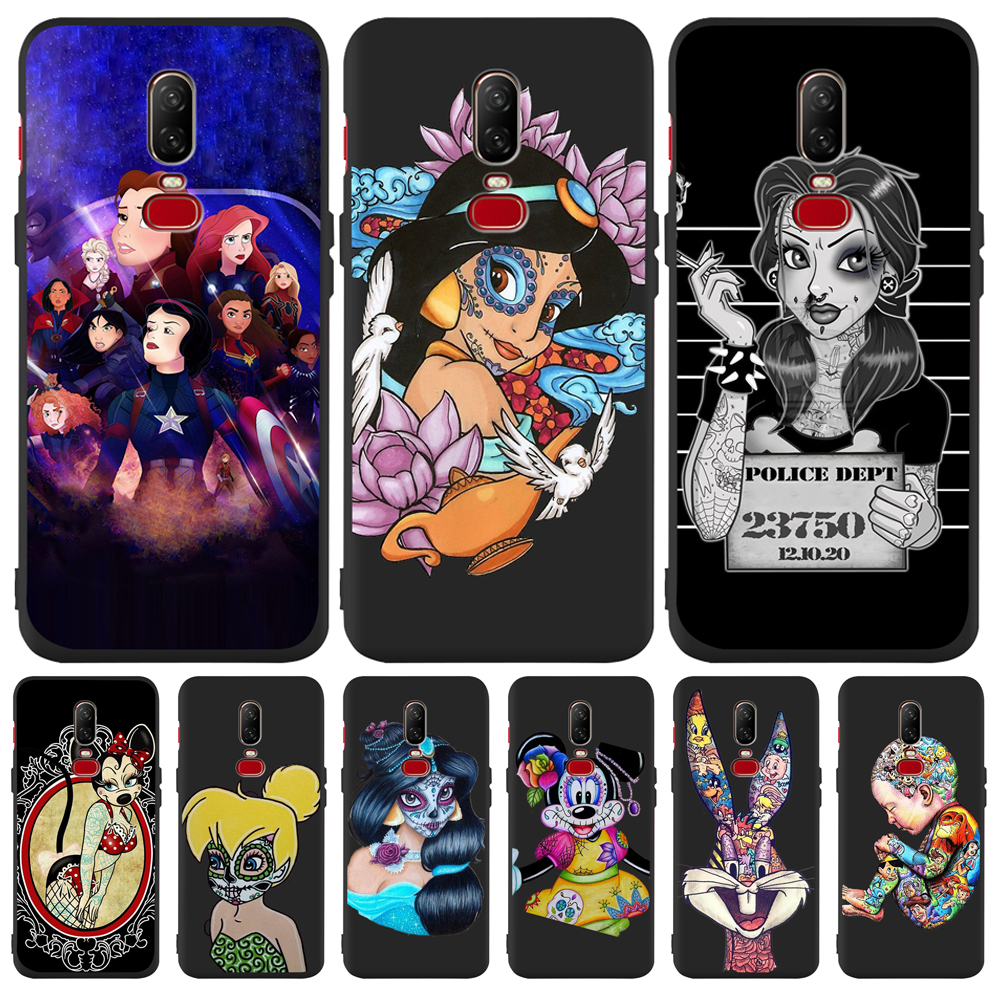 Luxury princess Mickey cartoon Custom For One plus 5 5T font b 7 b font font