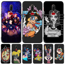 Luxury princess Mickey cartoon Custom For One plus 5 5T 7 Pro Oneplus 6 6T phone Case Cover Funda Coque Etui capa Jasmine cute