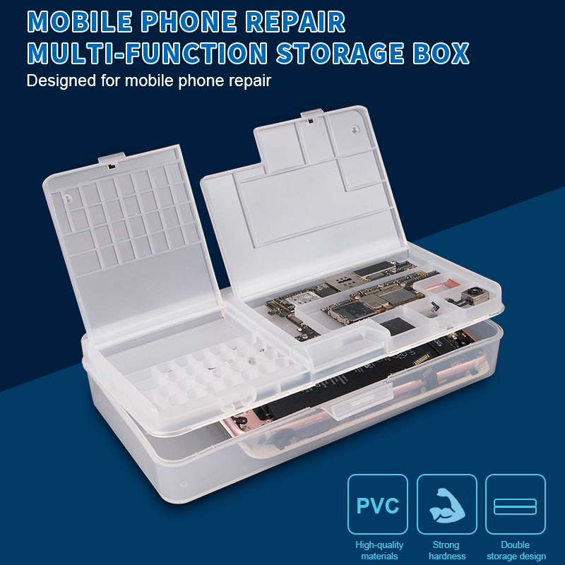 5pcs/lot Storage Box for iPhone LCD Screen Screws Component Storage Case Phone Repair Tools Herramientas Ferramentas5pcs/lot Storage Box for iPhone LCD Screen Screws Component Storage Case Phone Repair Tools Herramientas Ferramentas