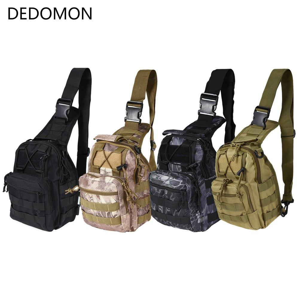Molle al aire libre escalada bolsas, mochila táctica militar, solo bolso de hombro, morral del deporte, Camping senderismo, viaje mochila bolsa