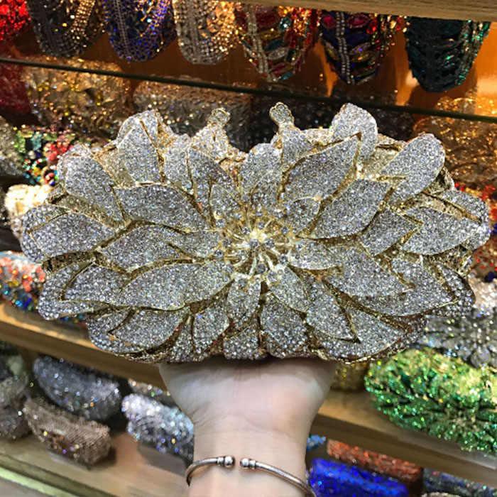 Grün/gold/silber/blaue perle perlen Frauen Abendtasche Kristall Clutches Metall Braut Hochzeit Kupplung Geldbörse Handtaschen und Geldbörse