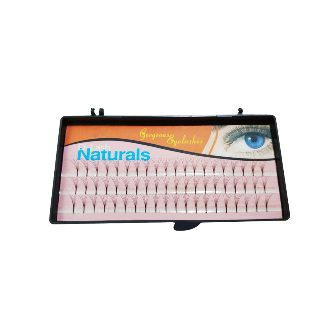 NEW Sale 60 Natural Long Black Individual False Eyelashes Eye Lash Extension Kit Soft 12mm 10mm 8mm Selection ...