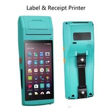 Принтер для чеков и Термоэтикеток IssyzonePOS 58 мм, Ручной PDA NFC PSAM Bluetooth Wi Fi POS принтер 2D, терминал передачи данных штрих кодов