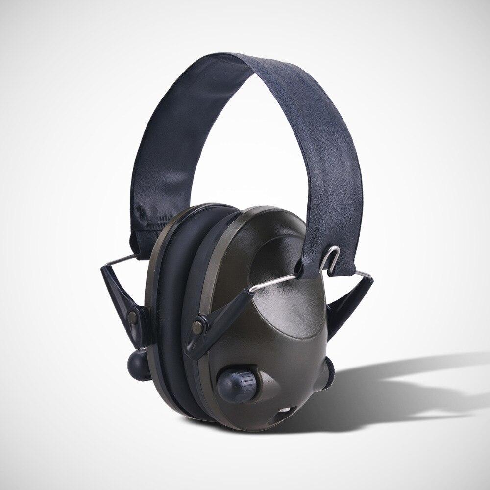 bilder für Anti-lärm IPSC Auswirkungen Sport Jagd Elektronische Taktische Ohrenschützer Schießen Gehörschutz Kopfhörer Gehörschutz