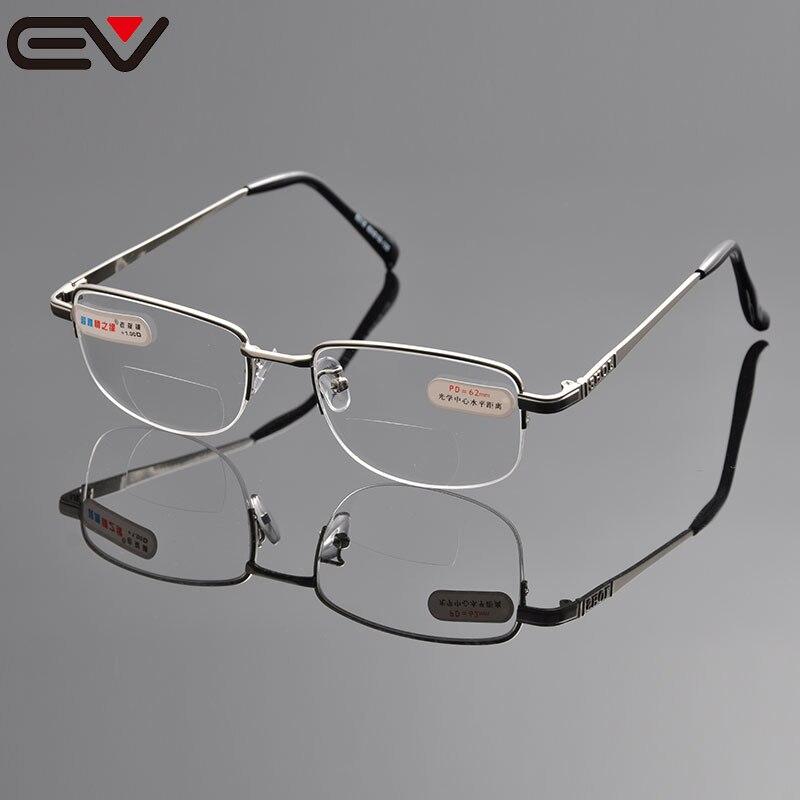Brýle na čtení pro muže Bifokální brýle na čtení pro zrakové brýle Gafas Lectura Rimless na čtení + 1 + 1,5 + 2 + 2,5 + 3 + 3,5 + 4 EV1044