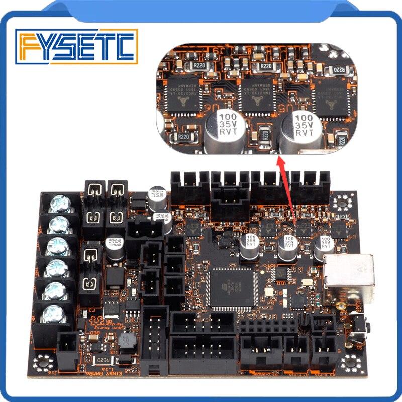EinsyRambo 1.1a плата для Prusa i3 MK3 с 4 Trinamic TMC2130 Степпер драйверы SPI Управление 4 Mosfet коммутируемых выходов