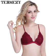 TERMEZY Women Lace Bra
