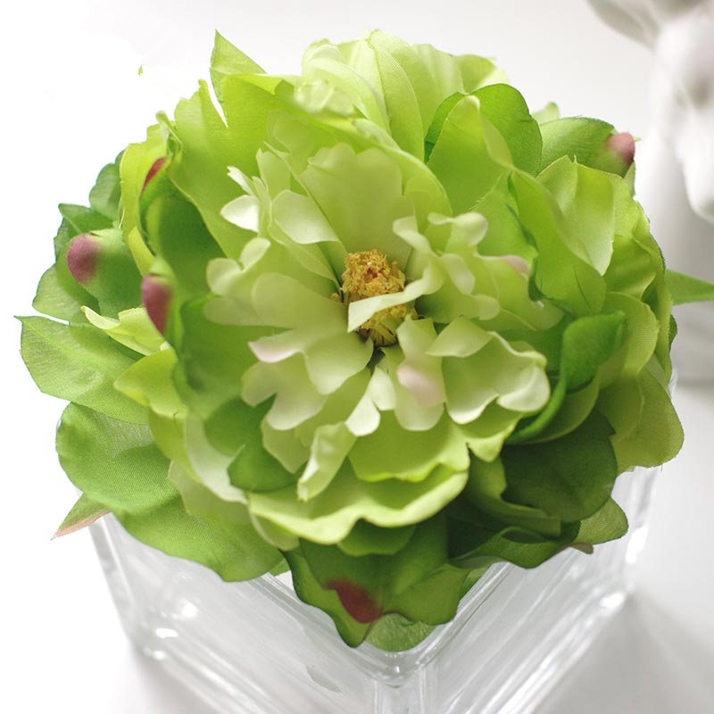 Large Artificial French Peony Heads Silk Flowers Home Decor Diy