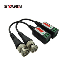 SYARIN Twisted CCTV UTP Video Balun Passive Transceivers Max Distance 2000FT UTP Balun BNC Cable Cat5 CCTV Video Balun