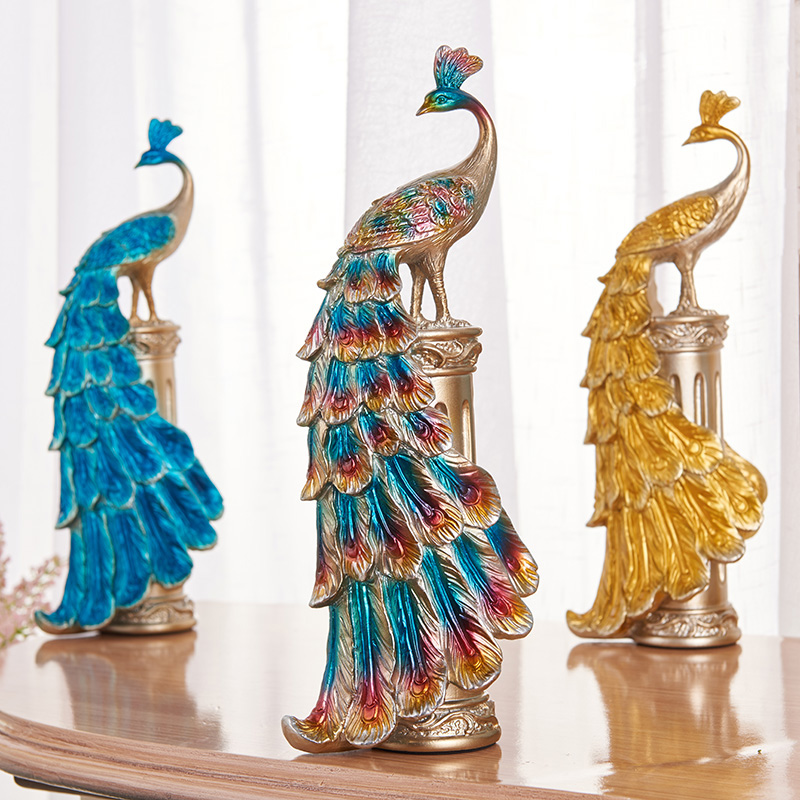 Peacock Wedding Gifts: Peacock Decoration Home Accessories European Creative
