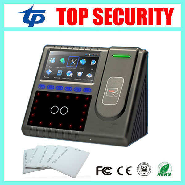 Iface501 face recognition time attendance and access control with RFID card reader optional battery linux system