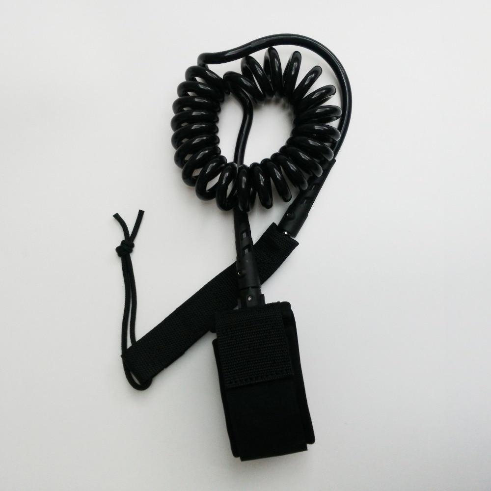 Ritininis liemenė 6ft-9ft Black Surf pavadėliu 7mm Naujas dizainas banglenčių stovas