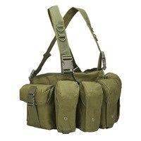 600D Tactical Men Military Tactical Vest Airsoft Tactical Vest Outdoor Clothing Hunting Vest 4 Magazine Pouches Vest