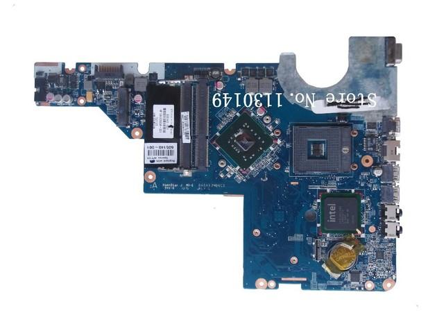 El envío libre para hp compaq g42 g62 cq42 cq56 g56 cq62 intel 478 placa madre del ordenador portátil 605140-001 da0ax3mb6c1 cq64