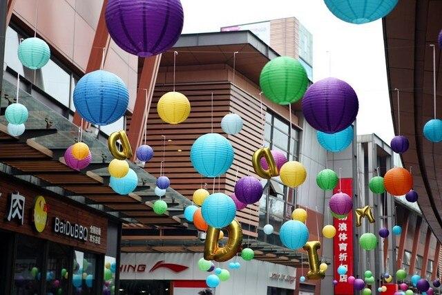 Celebration Activities Decorative Lanterns 6 16 Inch Chinese White Paper Lantern Patel Wedding Party
