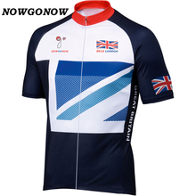 47da48dd4 NOWGONOW 2012 Cycling Jersey Great Britain national team flag men Bicycle  Clothing Bike Wear pro road