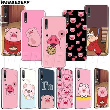 WEBBEDEPP หมูน่ารัก TPU soft สำหรับ Huawei P8 P9 P10 P20 P30 Y5 Y6 Y7 Y9 P smart Lite pro Prime Mini(China)