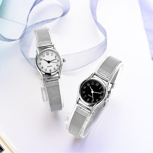 women's silver bracelet watches small women wrist watch women watches fashion wo