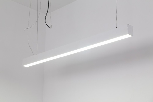 linear suspended lighting. free shipping high quality 110lm/w 600mm 15w suspended led linear lights with hanging cable lighting l