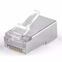 RJ45 Cat6 Cat6a Shield Shielding Network Connectors Plug Terminals for Modem Cable Network Adapter