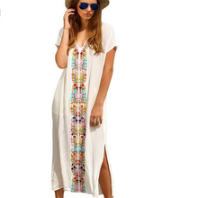 New arrival pareo women swimwear beach cover up comfortable soft beach tunic swimming suit women high quality beach dress swim