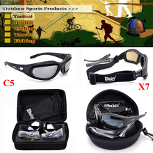 Tactical Glasses Army FS X7 C5 Gafas Ciclismo Airsoft Oculos Shooting Hunting Sport Goggles Sunglasses Men Polarized Glasses