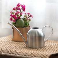 Ze stali nierdzewnej konewka ogrodnictwo doniczkowe małe konewka kryty soczyste podlewanie kwiat czajnik 500ml