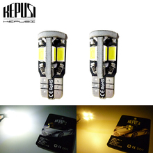 2x 194 W5W T10 LED Car Light Canbus 5730 Auto Bulbs Styling White For Opel Corsa Zafira Insignia Vectra b c d Astra h