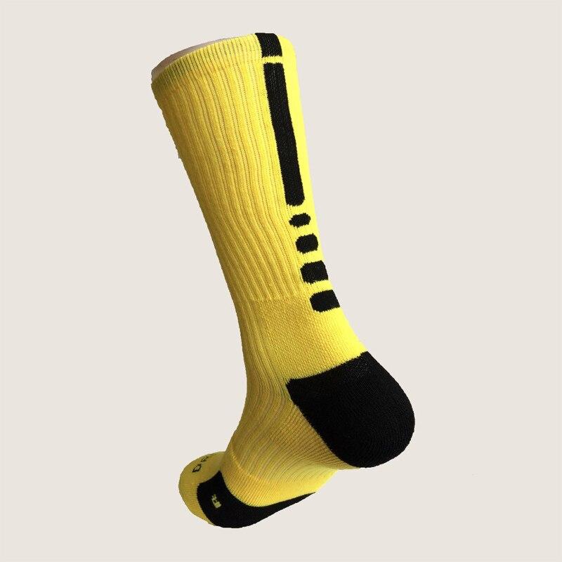 Новые Элитные Носки мужские длинные носки мужские утолщенные Носки мужские носки Meias Masculinas - Цвет: Yellow And Black
