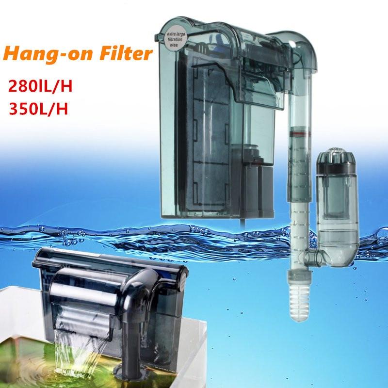 Aquarium Submersible 3-in-1 External Hanging Fish Tank Power Filter Waterfall External Aquarium Air Pump HI-330/HI-430