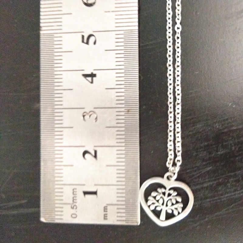 Tree of Life Pendants Necklaces Women Men Jewelry Tree Statement Stainless Steel Chain Necklace Tree of Neckless collares