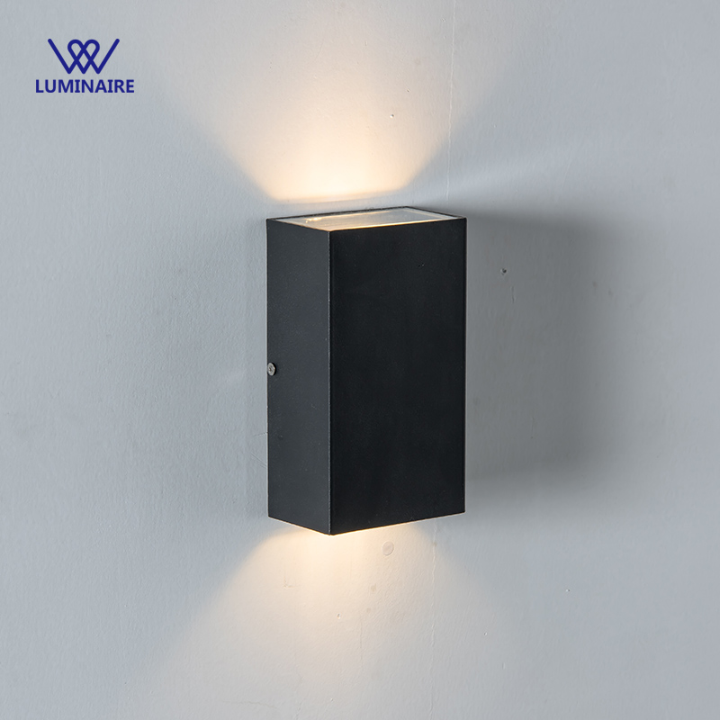 Outdoor Wall Light Bright: VW Super Bright 10W LED Outdoor Wall Lamp IP54 Garden Up