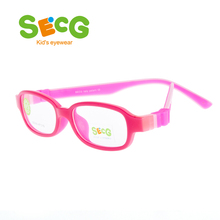 8540f502b92 SECG Ultralight Soft Kids Optical Glasses Frame Detachable Children  Hyperopia Myopia