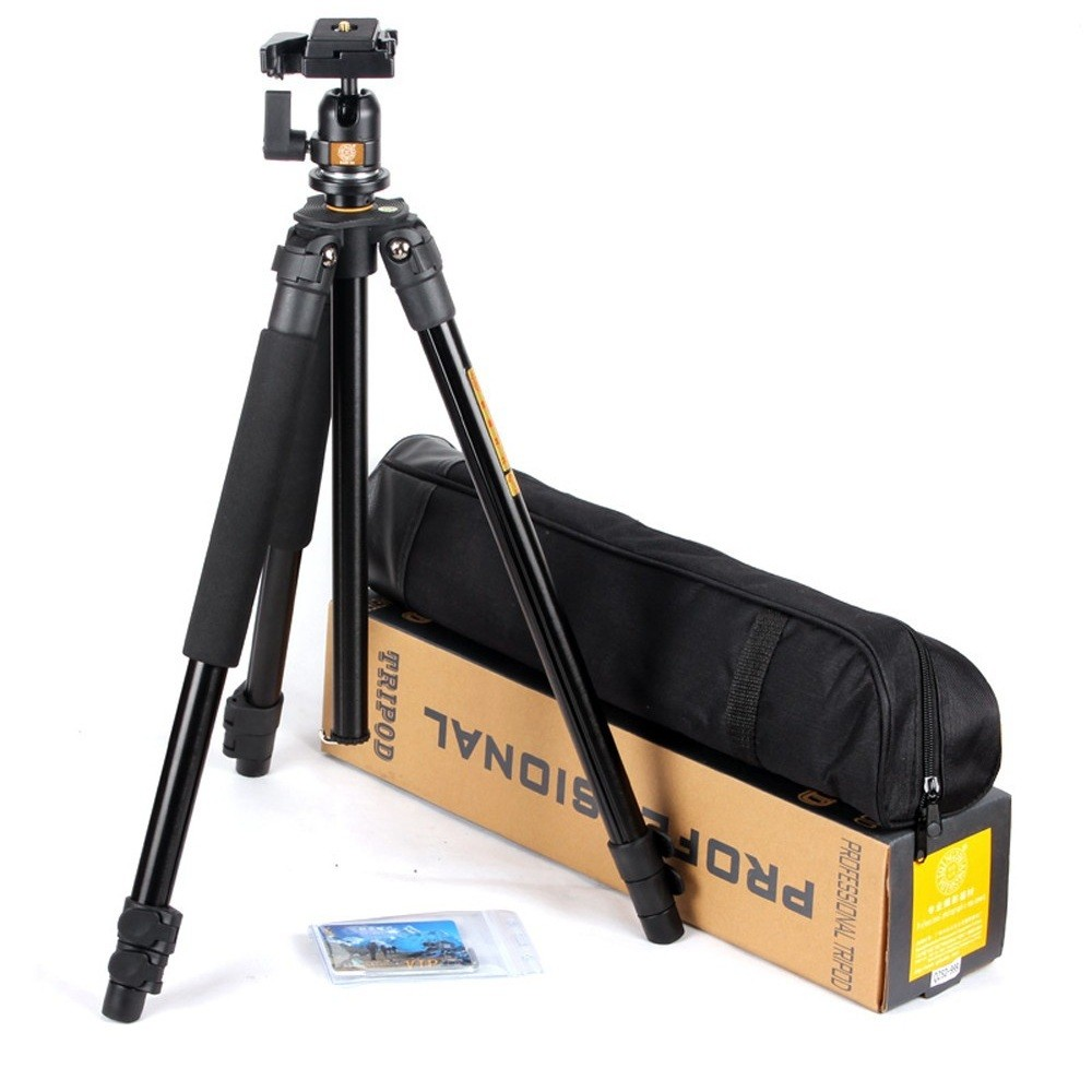 New Aluminum Portable Tripod with Ball Head Portable Detachable Changeable Traveling for Canon Nkion SLR Camera Camcorder 4pcs new for ball uff bes m18mg noc80b s04g
