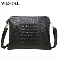 Promotion 100 Genuine Leather Crocodile Women Handbags Shoulder Bag Women Messenger Bags Day Clutch Handbag 2014