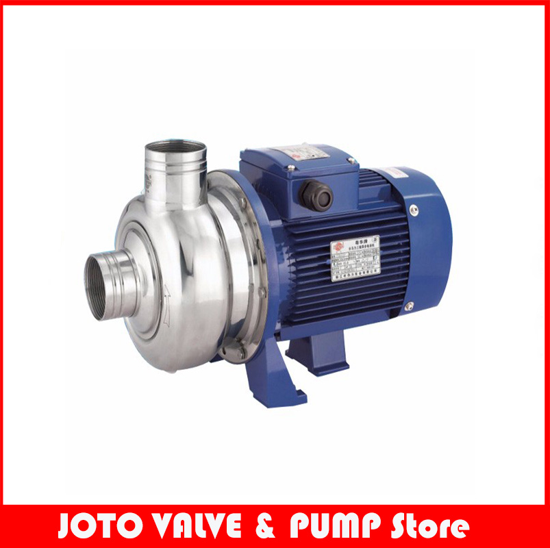 0.75KW Horizontal Single-Stage Booster Pump High Pressure Water Pump 220V Centrifugal Pump BK100D isw 100 100a water pump 4 inch horizontal inline pump for sale