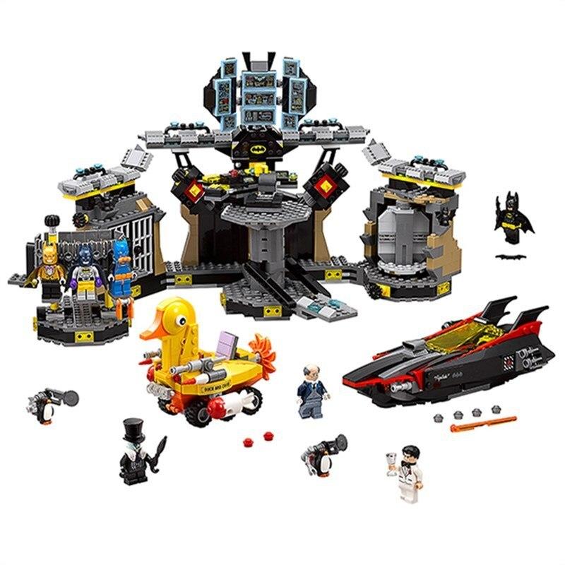 07052 Super Heroes Batman Batcave Brechen-in 70909 Pädagogisches Spielzeug Auf Der Ganzen Welt Verteilt Werden