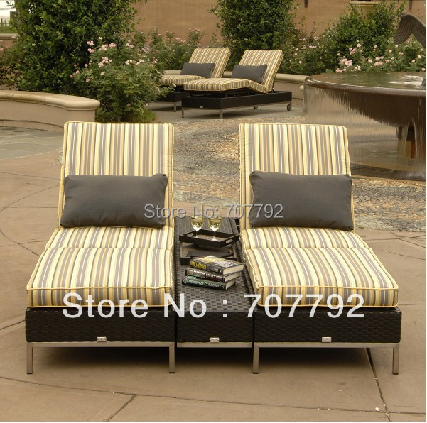 Compare Prices On Double Chaise Lounge Outdoor Furniture Online - Double chaise lounge outdoor furniture
