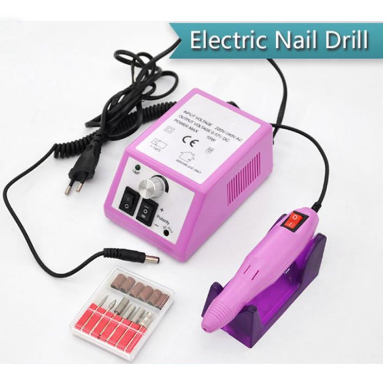20000 RPM Electric Acrylic Nail Drill Machine Pedicure Manicure Kits File Drill Bits Sanding Band Accessory Nail Art Salon Tools 20000 rpm electric nail drill machine pedicure manicure machine nail art equipment kit sanding bands drill bits set nail tools