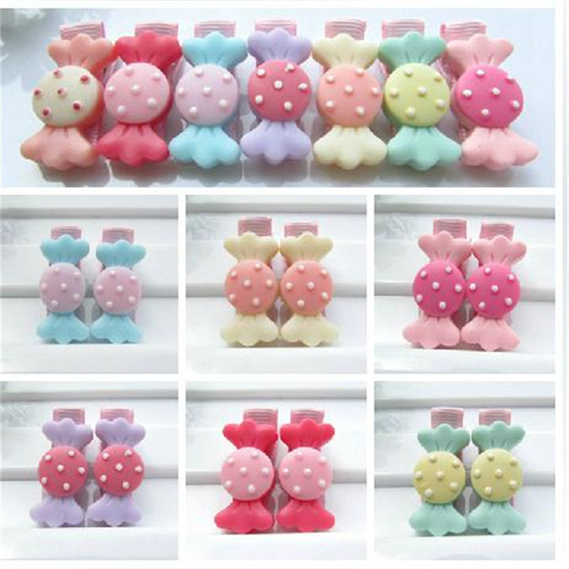 AKWZMLY Fashion Special Offer Cute Hair Clip Kids Girls Hairpin South Korean Accessories Acrylic Barrettes Candy Hairclip 6pcs special offer wings xx4232 jc korean air hl7630 1 400 b747 8i commercial jetliners plane model hobby