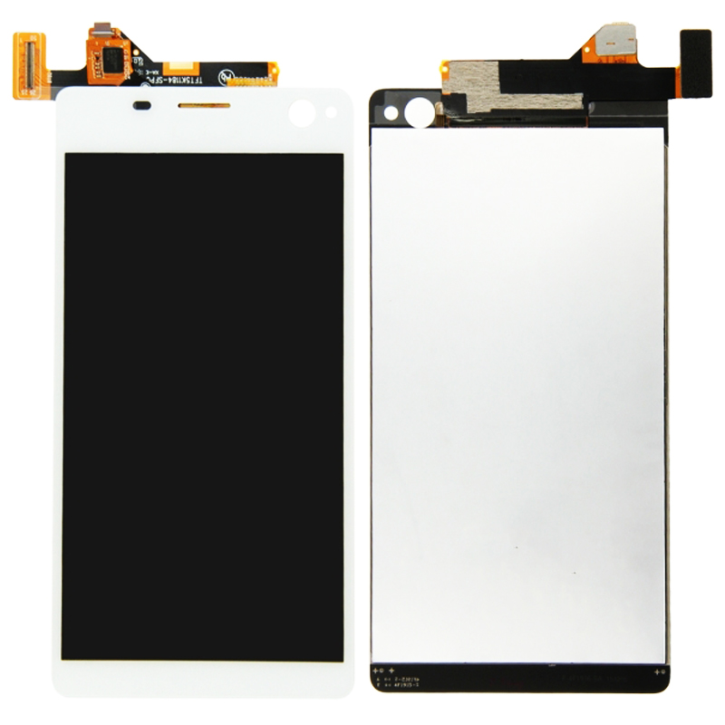 LCD Display For Sony Xperia C4 E5303 E5306 E5333 Touch Screen Digitizer Assembly Replacement Parts White With Frame in Mobile Phone LCD Screens from Cellphones Telecommunications