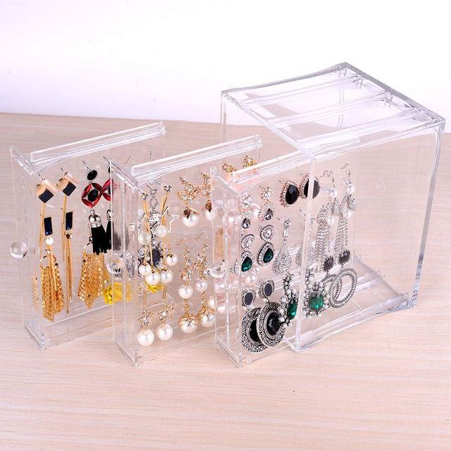 Creative Jewelry Box dust proof Casket for Jewelry Best Birthday